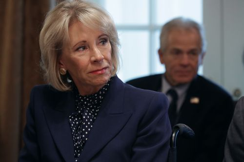 DeVos donates her salary to historically black colleges, 6 other groups