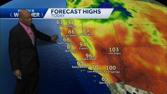 Seasonably Cool on the Central Coast Today
