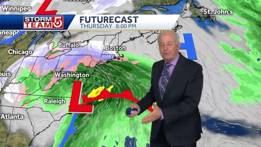 Video: Coldest air of season midweek; Measurable snow late-week