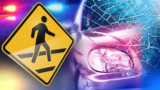 Accident involving pedestrian leaves victim in critical condition