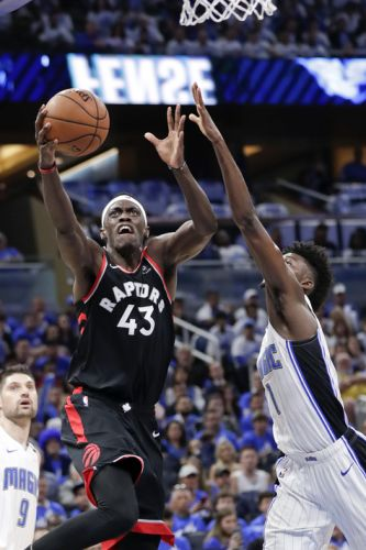 Siakam has 30 points, Raptors top Magic 98-93 for 2-1 lead