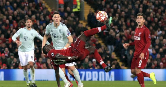 Liverpool, Bayern draw 0-0 in Champions League first leg