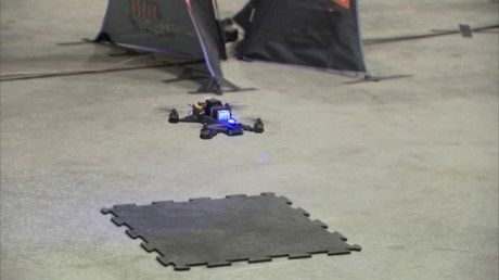 NASA's Google-funded AI drone faces man in final test
