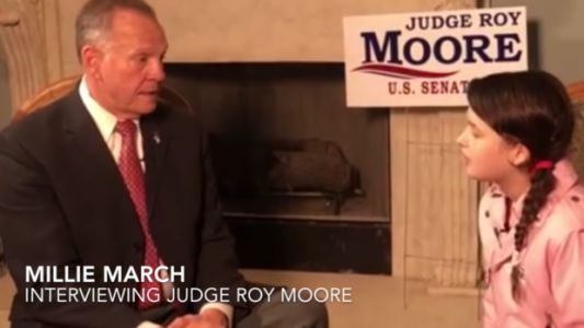 Trump Super PAC Gets 12-Year-Old Girl To Interview Roy Moore