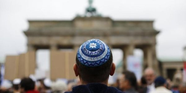 German Jews are being warned not to wear skullcaps in public as number of anti-Semitic hate crimes surges