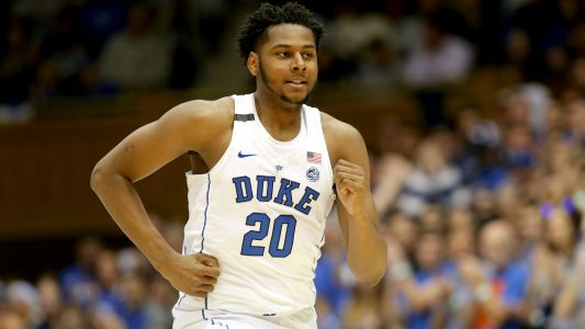 Duke's Mike Krzyzewski: 'Marques Bolden will be one of the best big men in the country next season'