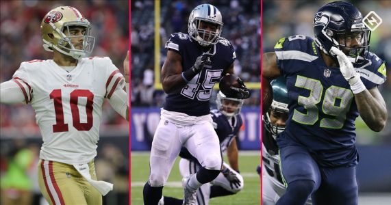 Fantasy Football Week 15 Waiver Pickups: Jimmy Garoppolo, Rod Smith, Mike Davis continue to impress