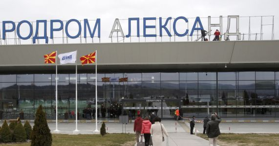 Alexander the Great pulled from Macedonia airport in gesture