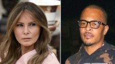 Melania Trump's Spokeswoman Calls For Boycott Of 'Disgusting' T.I. Video