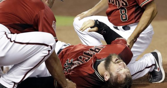 Diamondbacks RF Steven Souza Jr. injures left knee