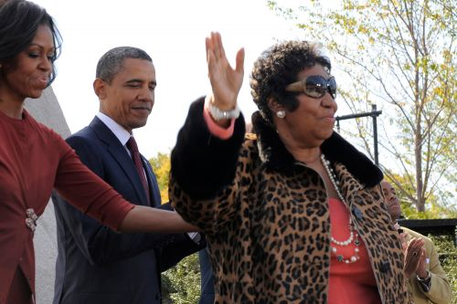 Obamas praise Aretha Franklin as 'truly one of a kind'