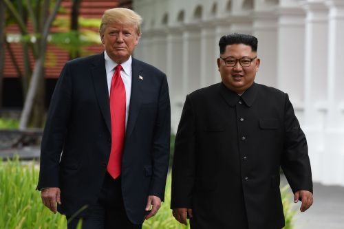 Kim hopes for 'improvement of relations' with US in letter to Trump