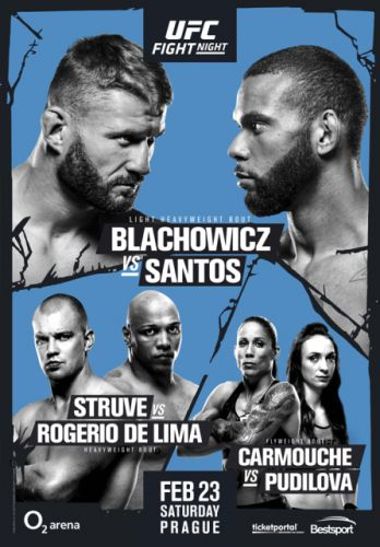 Check out the poster for the UFC's debut event in the Czech Republic