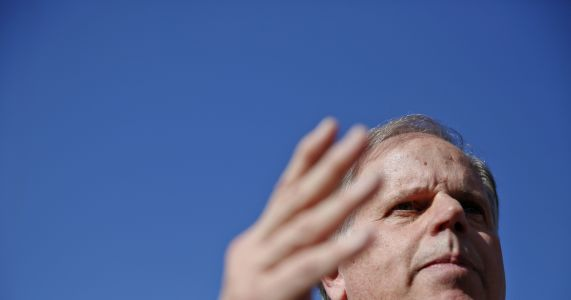 As Roy Moore scandal churns, a Democrat gets out of the way