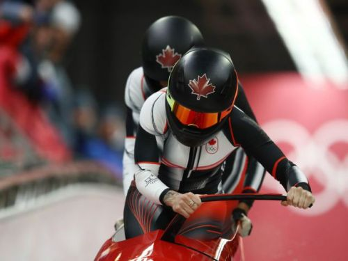 Canada's Kaillie Humphries, Phylicia George win bronze in women's bobsleigh