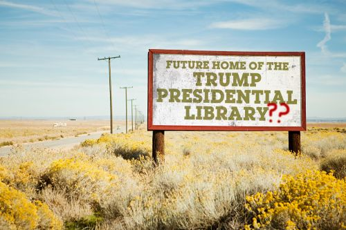 Will There Be a Trump Presidential Library? Don't Count On It