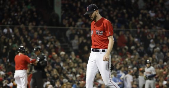 Sale not ready to pitch for Red Sox in Game 5 of ALCS