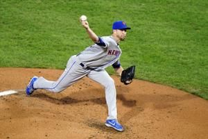 Mets ace Jacob deGrom leaves start with hamstring spasm