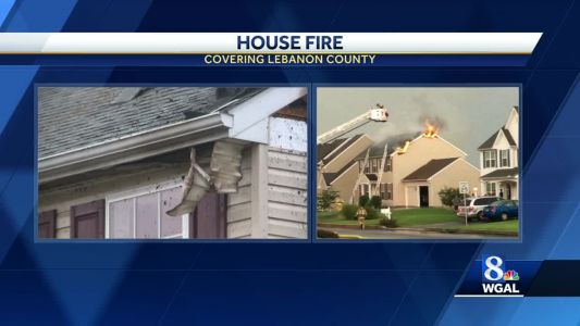 Fire in Lebanon County injures two firefighters