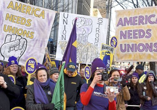 Emboldened by Janus ruling, conservatives take to court to challenge union power