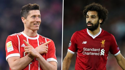 Lewandowski, Salah and the top 20 players with best minutes-per-goal ratio this season