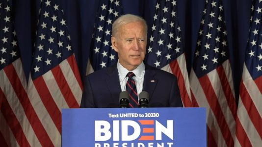 Former Vice President Joe Biden calls for President Donald Trump to be impeached