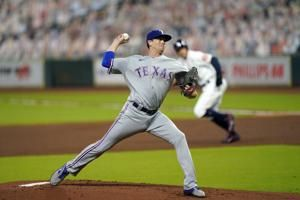 Gibson's gem fuels Rangers past Astros, 1-0