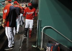 Nationals move Kendrick to 60-day DL, recall LHP Collins