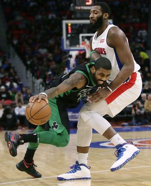 Celtics' Irving out for Bulls game because of bruised quad