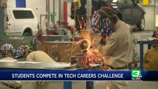Students compete in tech careers challenge in Sacramento