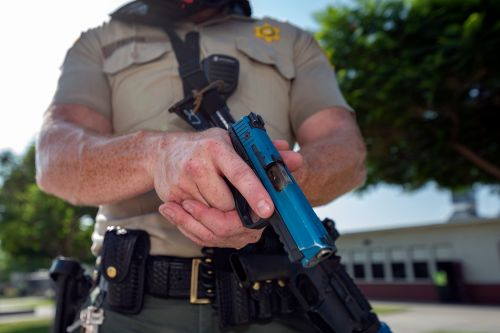 Cops reportedly shot teachers with pellet guns 'execution style' during drill