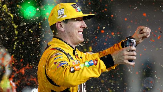 NASCAR results at Richmond: Kyle Busch comes from back of field for third win in row