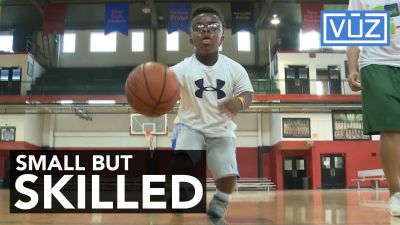10-year-old doesn't let small size stop him from being a basketball star
