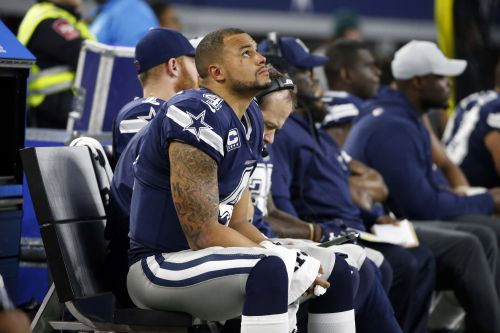 Playoffs slipping away for Elliott-less Cowboys after blowout loss
