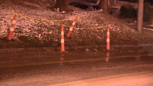 Water main break may create slick conditions along busy road in Penn Hills