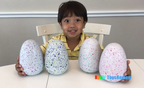 A 7-year-old boy is making $11 million a year on YouTube reviewing toys