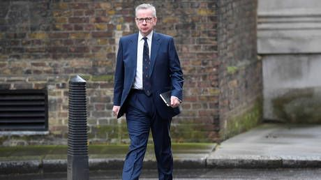 Senior UK cabinet minister Gove self-isolating after family member displays Covid-19 symptoms