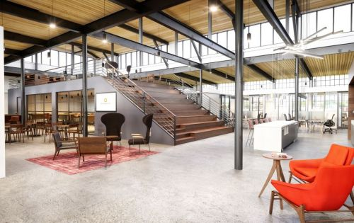 Innovative 'co-working' spaces planned in old West Greenville mill