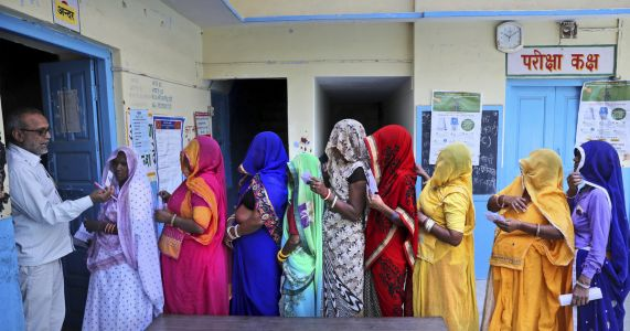 AP PHOTOS: Indians set to vote in final phase of election
