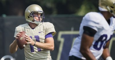 Veteran QB K.J. Carta-Samuels 'a completely different player' in his fourth UW camp
