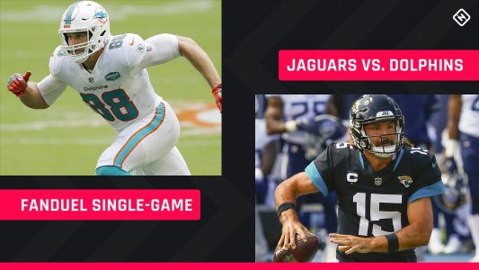 Thursday Night Football FanDuel Picks: NFL DFS lineup advice for Week 3 Jaguars vs. Dolphins single-game contests