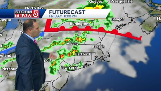 Video: Storms threaten first half of weekend