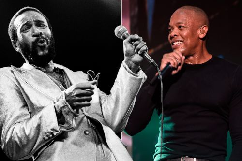 Dr. Dre is working on a movie about Marvin Gaye