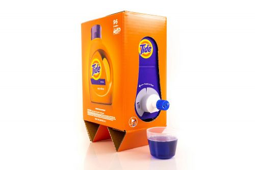 Don't drink this Tide just because it looks like boxed wine