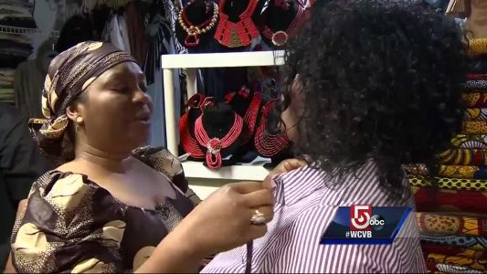 Local business specializing in African clothes see business skyrocket