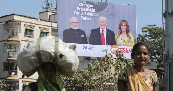 India, US struggle to bridge trade disputes as Trump visits