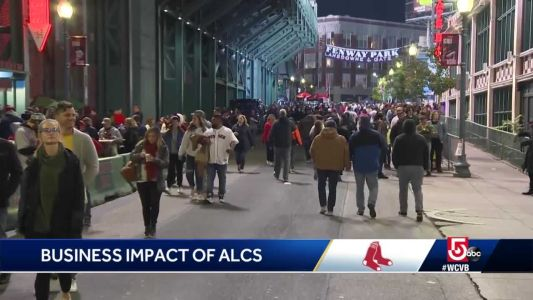 ALCS in Boston means big business for Fenway businesses