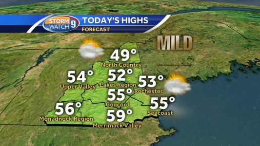 Highs to soar into the 50s Tuesday; records likely Wednesday