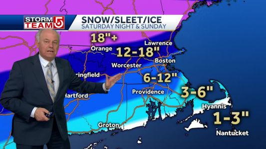 Video: Warnings issued for winter storm approaching region
