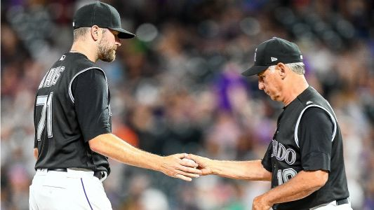 Rockies' trade deadline plans are 'more complicated' because of recent struggles, general manager says